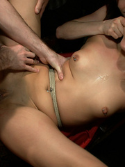 Tied up and humiliated slave babes are just - XXX Dessert - Picture 13
