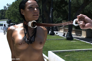 Naked busty slave chick purchased as a s - XXX Dessert - Picture 3