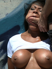Super busty latin babe gets her aas fucked - XXX Dessert - Picture 3