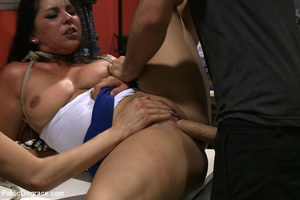 Big boobed enslaved stunner gets both he - XXX Dessert - Picture 10