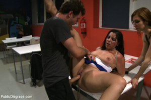 Big boobed enslaved stunner gets both he - XXX Dessert - Picture 14