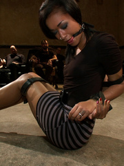 Poor enslaved beauty is an object of kinky - XXX Dessert - Picture 3