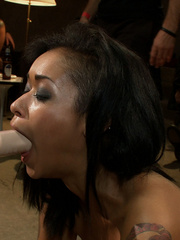Poor enslaved beauty is an object of kinky - XXX Dessert - Picture 8