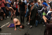 naked gagballed slave babe