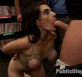 Tits tortured bound slave girl with epic boobs&hellip;