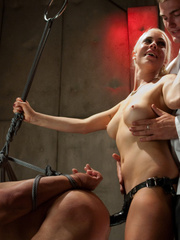 Nasty femdom pics of tied up and humiliated - XXX Dessert - Picture 3
