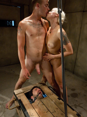 Nasty femdom pics of tied up and humiliated - XXX Dessert - Picture 14