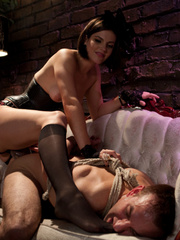 Female domination pics of brunette babe - XXX Dessert - Picture 13