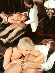 Two seventies couples doing it all together - XXX Dessert - Picture 8