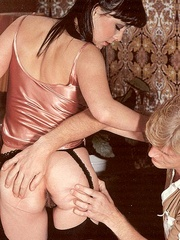 Two hairy seventies girls getting fucked by - XXX Dessert - Picture 5