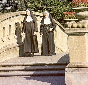 Two hairy seventies nuns stuffed in all  - XXX Dessert - Picture 1