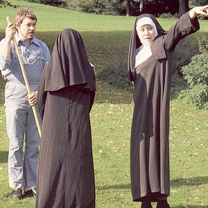 Two hairy seventies nuns stuffed in all  - XXX Dessert - Picture 3