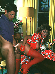 Sexy shaved seventies lady gets some rough - XXX Dessert - Picture 7