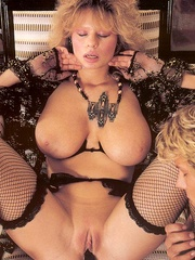 Big titted retro mom loves a big sticky - XXX Dessert - Picture 1