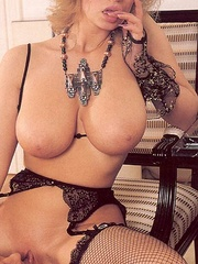 Big titted retro mom loves a big sticky - XXX Dessert - Picture 8