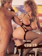 Big titted retro mom loves a big sticky - XXX Dessert - Picture 9