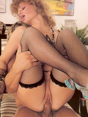 Big titted retro mom loves a big sticky - XXX Dessert - Picture 13