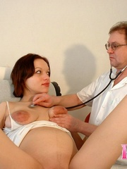 Pregnant beauty gets her tits and pussy - XXX Dessert - Picture 15