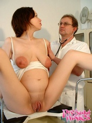 Pregnant beauty gets her tits and pussy - XXX Dessert - Picture 16
