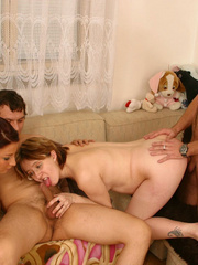 Group sex with a preggo on board is so much - XXX Dessert - Picture 10