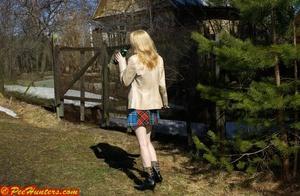 Nice teen sunbathing and peeing - XXXonXXX - Pic 8