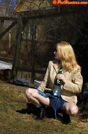Nice teen sunbathing and peeing - XXXonXXX - Pic 12