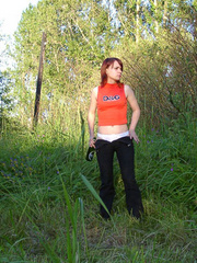 Spying on redhair teen peeing after beer - XXXonXXX - Pic 6