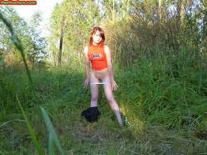 Spying on redhair teen peeing after beer - XXXonXXX - Pic 8