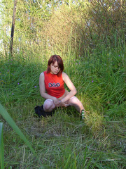 Spying on redhair teen peeing after beer - XXXonXXX - Pic 10