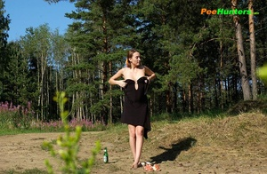 Young perverted piss exhibitionist shows her hole - XXXonXXX - Pic 2