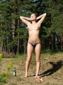Young perverted piss exhibitionist shows - Picture 4