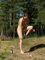 Young perverted piss exhibitionist shows - Picture 5