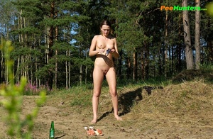 Young perverted piss exhibitionist shows her hole - XXXonXXX - Pic 12