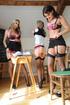 Three naughty college girls Candice Collyer, Cat…