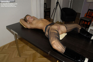 Awesome Liciana get blindfolded and tied - XXX Dessert - Picture 1