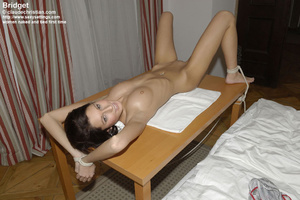 Awesome Liciana get blindfolded and tied - XXX Dessert - Picture 2