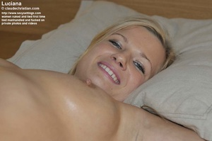 Awesome Liciana get blindfolded and tied - XXX Dessert - Picture 11