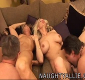 Two Couples Swap Spouses In Hot Foursome