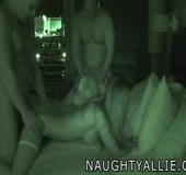 Two Real Couples Caught Fucking At Night