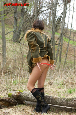 Horny teen peeing in the park - XXXonXXX - Pic 5