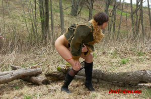 Horny teen peeing in the park - XXXonXXX - Pic 13