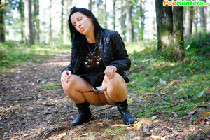 Swarthy puss searching for a quiet place to pee - XXXonXXX - Pic 11