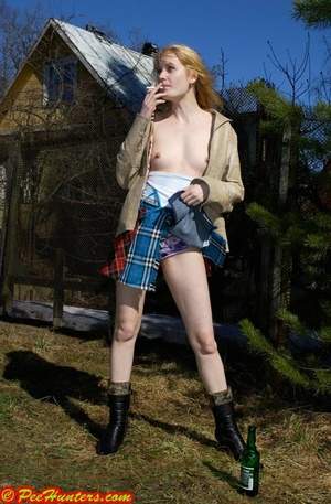 Spying on peeing and sunbathing teen - XXXonXXX - Pic 5