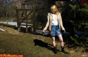 Spying on peeing and sunbathing teen - XXXonXXX - Pic 7