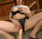 Check out homemade pics of redhead granny pleasing…
