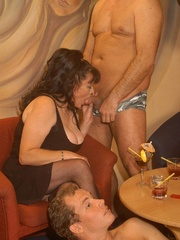 Nasty grannies get cum covered after rough - XXXonXXX - Pic 2