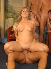 Nasty grannies get cum covered after rough - XXXonXXX - Pic 5