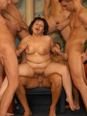 Nasty grannies get cum covered after rough - XXXonXXX - Pic 6