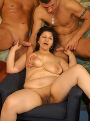 Nasty grannies get cum covered after rough - XXXonXXX - Pic 8