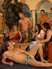 Suoer hot orgy sex performed by nasty mature wife - XXXonXXX - Pic 1